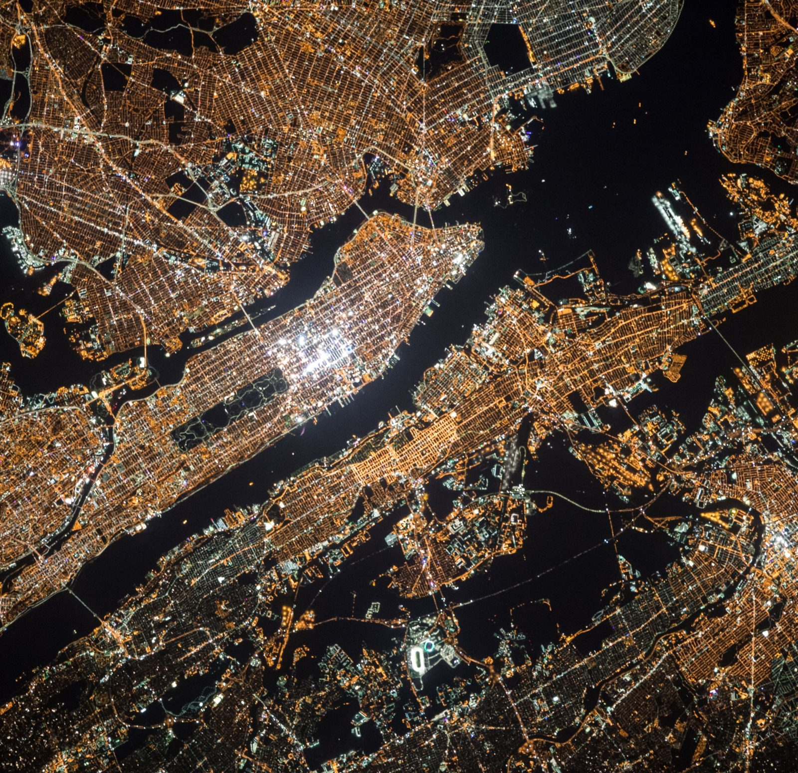 Satelitbild